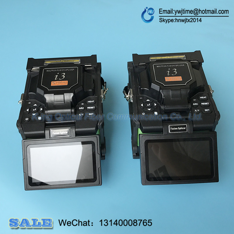 Very stable machine 6 motor core alignment FTTH fiber splicer I3 Optical fiber welding machine 1