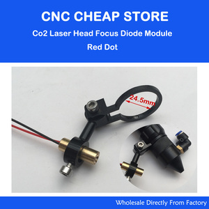 Co2 лазерная режущая головка, Фокусировочный диодный модуль, положение Красной точки, позиционирование, DIY Лазерный гравер, резак, фокусное р...