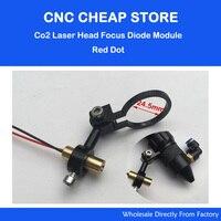Co2 Laser Cutting Head Focus Focusing Diode Module Red Dot Position Positioning DIY Laser Engraver Cutter