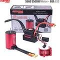 SURPASS HOBBY KK Waterproof Combo 3660 2600KV 3500KV Brushless Motor w//Heat Sink 60A / 80A Brushless ESC for RC 1/10 Car