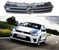 POLO R/Rline Styling ABS Frente Auto Grade da Malha do amortecedor grille para VW Polo 2010-2015
