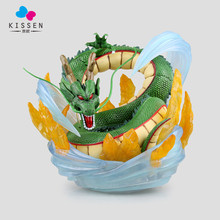 Kissen EMS Anime Dragon Ball Z Mega Shenron Fairy Dragon Cartoon Toy PVC Action Figure Model Gift