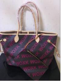 Vente chaude!!! 2018 nouvelles femmes de mode sac à main sac 1:1 réel en cuir avec bonne qualité neverful sacs taille GM/MM LIVRAISON GRATUITE
