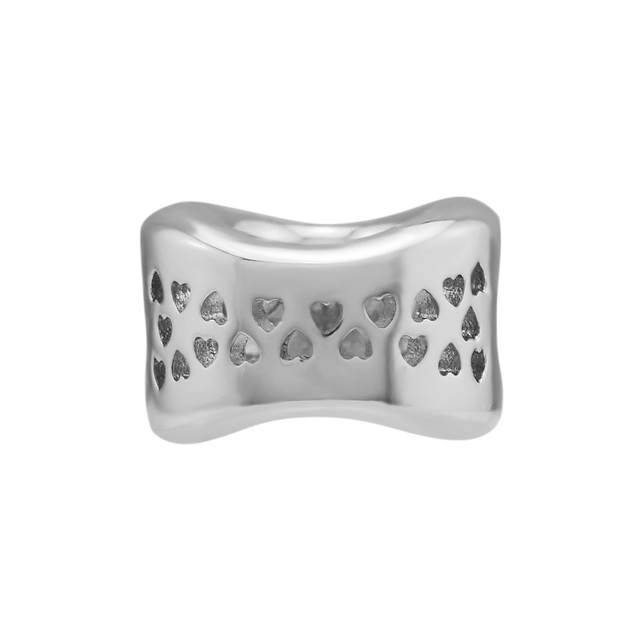 Pandulaso Argento di Fascino Corona O di Fascino Misura Perline Argento Sterling 925 Bracciali Per La Donna Pendenti e Ciondoli per la Produzione di Gioielli FAI DA TE