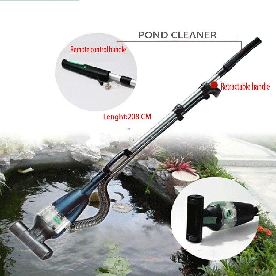 PC-1 Koi étang nettoyant poisson piscine Machine d'aspiration 6 mètres tuyau droit enlèvement et Filtration de sable débris algues herbe