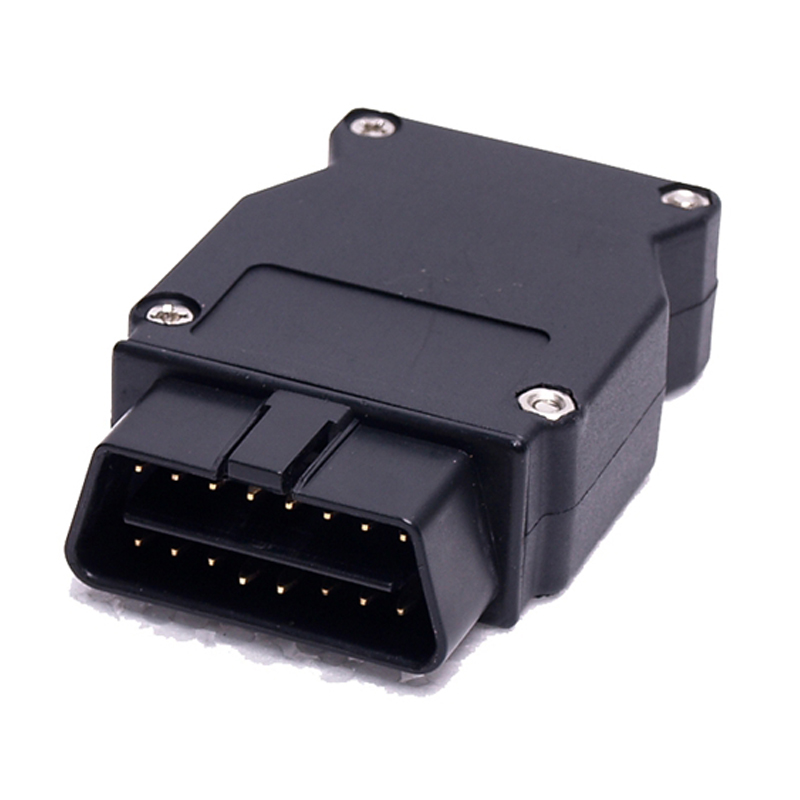 Цена за 50 Шт./лот DHL Быстрый Для B-MW ENET Ethernet к OBD2 Разъем 16Pin Работает Для B-MW ESYS Кодирования F-серии OBD Диагностическое Зажигания
