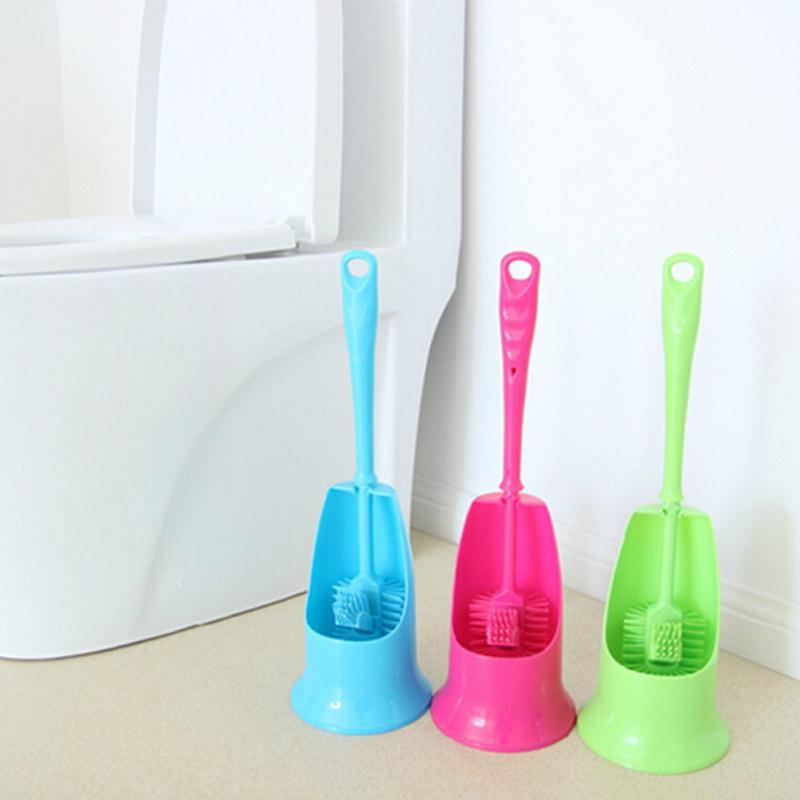 Nouveau En Plastique Salle De Bains WC Brosse De Toilette Titulaire Outils  De Nettoyage De Ménage