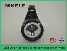 IW5500 BH Portable lamp light inspection work,led torch flashlight,hunting search light used in ship