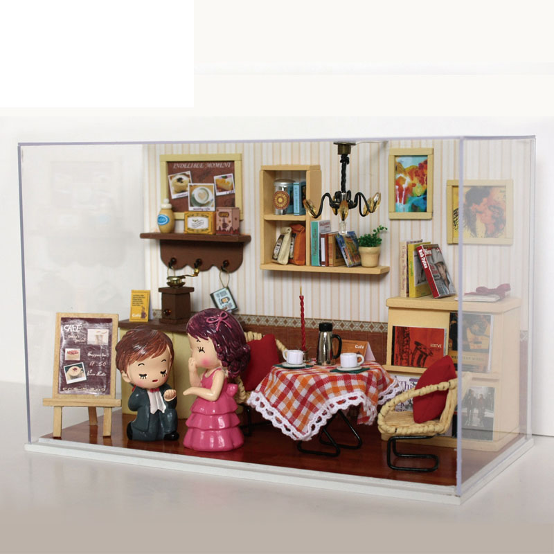 Dollhouse Miniature Diy Doll House Room Box Home Dream