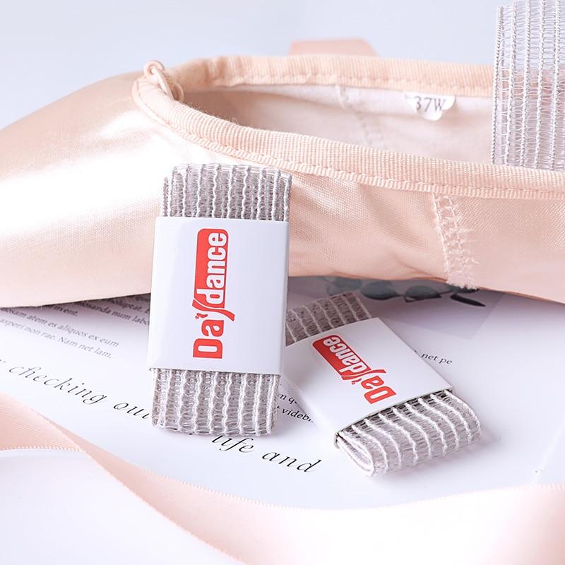 Ballet Pointe Shoes Elastic Bands White Fishnet Band For Ballerina