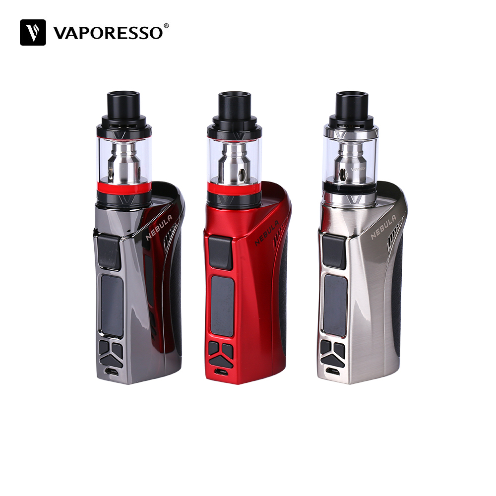 Original Vaporesso Nebula TC Kit 2ml/4ml Veco Plus Tank Electronic Cigarette vs Nebula Box Mod 80W /100W Electronic Cigarette