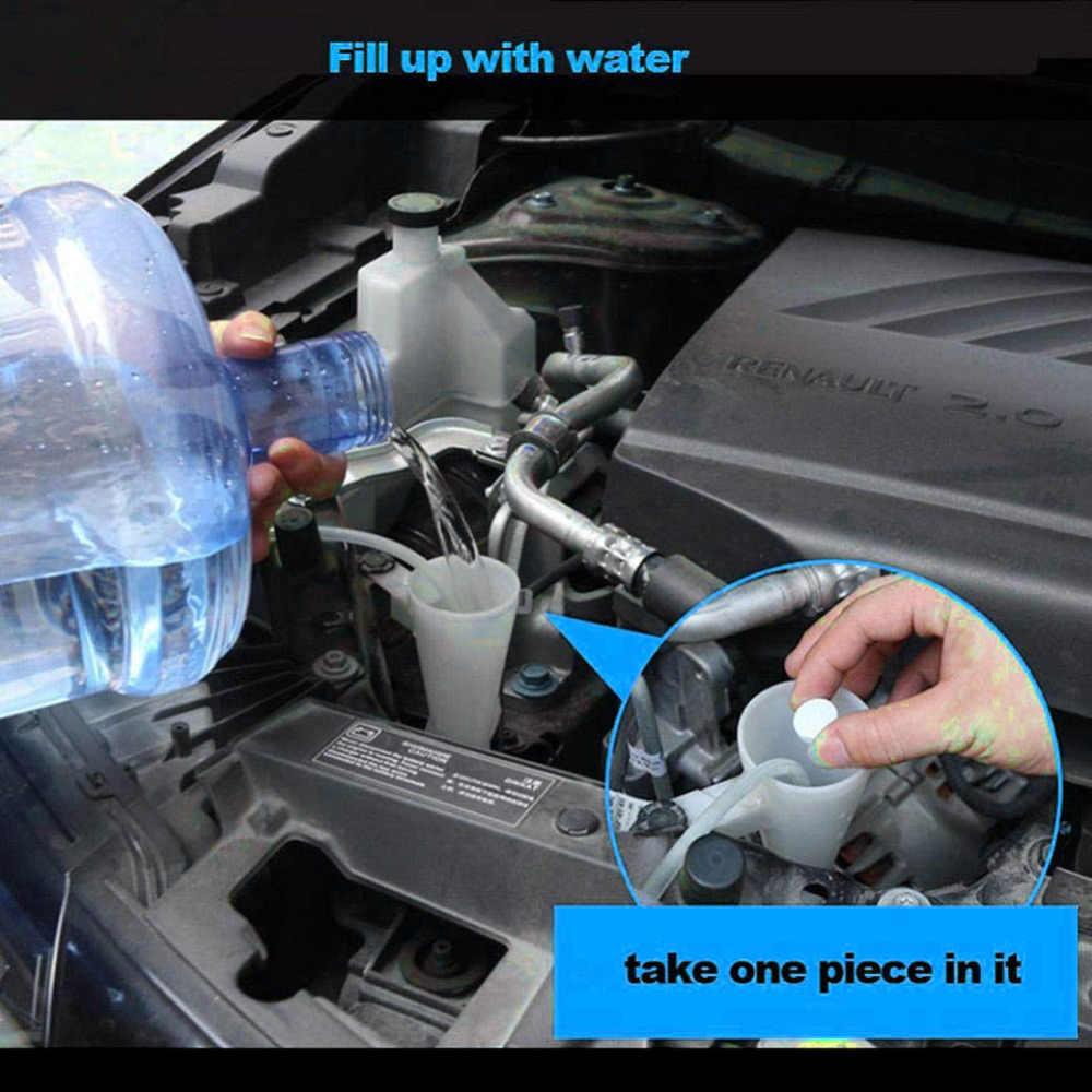 1 Uds = 4L limpiaparabrisas compacto efervescente tabletas detergente Color al azar accesorios de coche