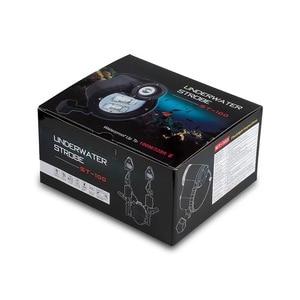 Image 5 - ST 100 pro à prova dwaterproof água flash strobe para a6500 a6000 a7 ii rx100 i/ii/iii/iv/v caixa de câmera subaquática mergulho