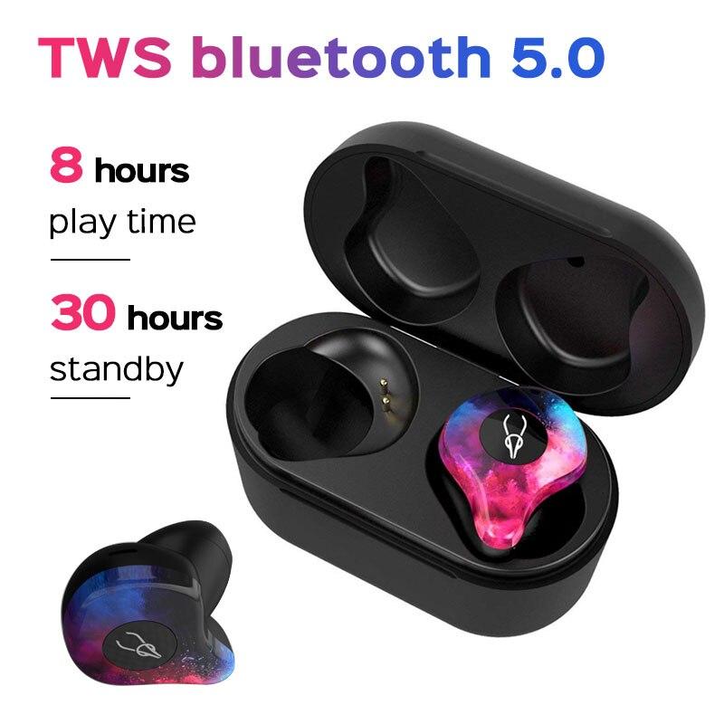 Écouteur Bluetooth HD stéréo TWS pour Umidigi a5 pro iPhone X XR 7 8 6 Bluetooth 5.0 casque pour Huawei p20 lite Xiaomi redmi k20