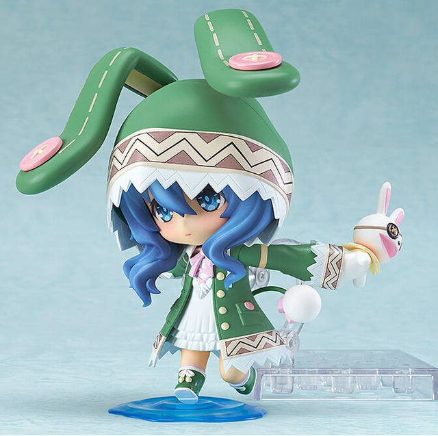 10cm 4pcs/set Date A Live Yoshino Q Action Figures PVC brinquedos Collection Figures toys for christmas gift free shipping