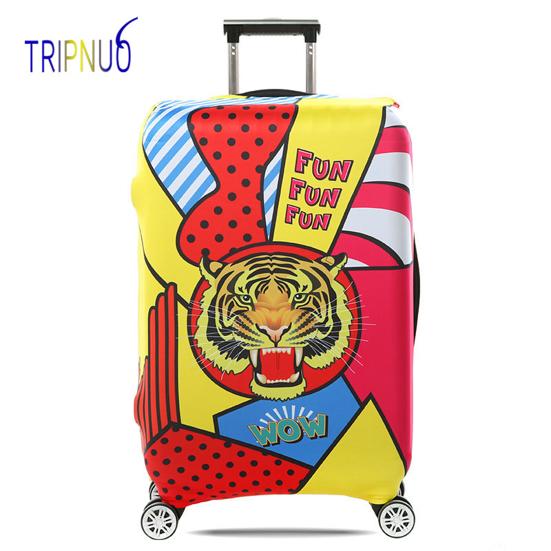 TRIPNUO дорожные аксессуары чемодан защитные чехлы эластичность Орел Чемодан Чехлы для 18-32 дюймов толстый чемодан Крышка