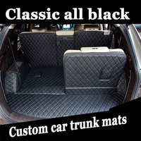 ZHAOYANHUA Custom fit car Trunk mats for Mercedes Benz A C W204 W205 E W211 W212 W213 S class CLA GLC ML GLE GL rug liners