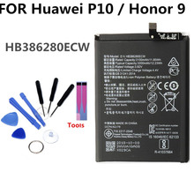 3200mAh HB386280ECW battery For Huawei P10 Ascend Honor 9 li-ion polymer  Replacement Phone Battery