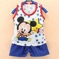 Девочки и мальчики одежда для новорожденных наборы летом roupa infantil костюмы хлопка одежды завод прямых одежда enfant одежда