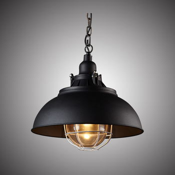 Industrial  Loft Restaurant American country vintage wrought iron pendant lamp single head