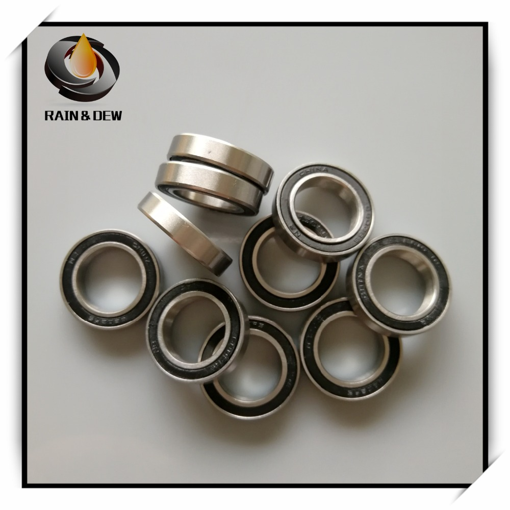 1Pcs 6803 6803-2RS 61803 17x26x5 Mm ABEC-7  Hybrid Ceramic Ball Bearing Bicycle Bottom Brackets & Spares 6803RS Si3N4