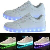 LED Licht Lace Up Unisex Sportkleding Sneaker Lichtgevende Schoenen Fietsschoenen Hoge Kwaliteit