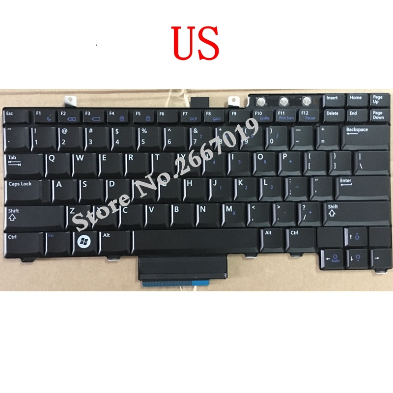 US New Replace laptop keyboard For DELL For Latitude E5300 E5400 E5500 E5510 E5410 us new replace laptop keyboard for dell for latitude e5300 e5400 e5500 e5510 e5410