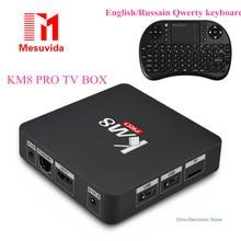 Mesuvida KM8 Pro Smart TV Box для Android 6.0 TV Box Amlogic S912 Octa Core CPU Поддержка Bluetooth 4.0 Dual Band WiFi Многие фильмы