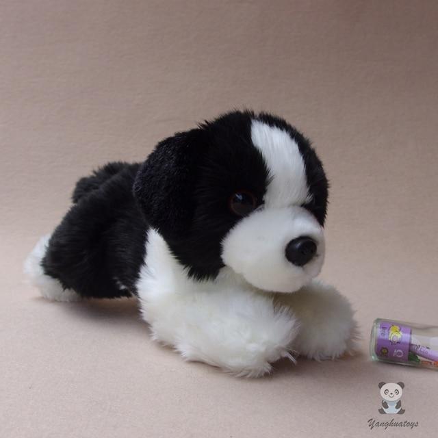 Simulation Border Collie Doll Children S Plush Animals Toys Gift