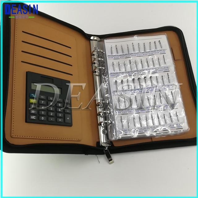 Top quality Dental diamond bur sample book 210 models/pcs diamond bur catalog dental material FG burs