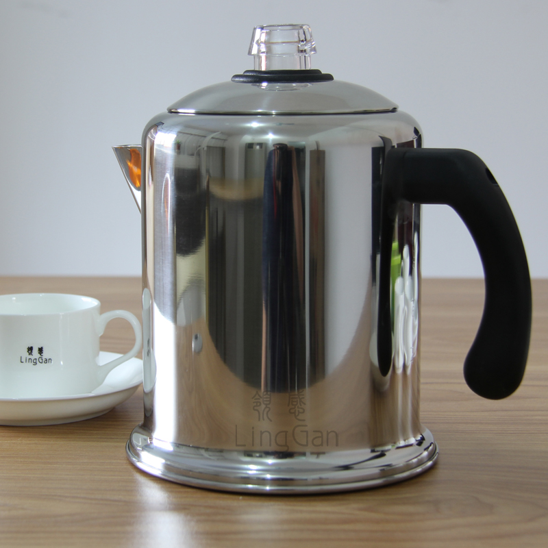 American home old Shanghai stainless steel coffee pot siphon distillation type drip mocha pot kettle from
