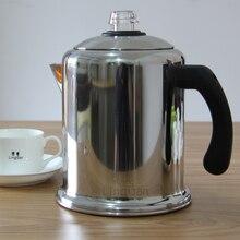 Amerikanischen startseite old Shanghai edelstahl kaffeekanne siphon destillation typ drip mokkakännchen wasserkocher von filterpapier