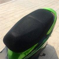 Nova Impermeável Respirável Verão 3D Malha Motocicleta Ciclomotor Moto Scooter de Tampas de Assento Almofada Anti Slip|Capas p/assento| |  -