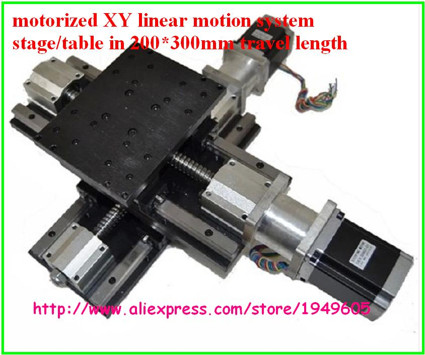 US $674 0 |motorized XY linear motion system stage/table in 200*300mm  travel length-in Lathe from Tools on Aliexpress com | Alibaba Group