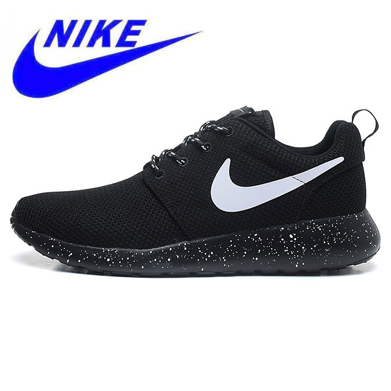 c7e8f85fd9da Original New Arrival Authentic Nike Men s ROSHE RUN Mesh Breathable Running  Shoes