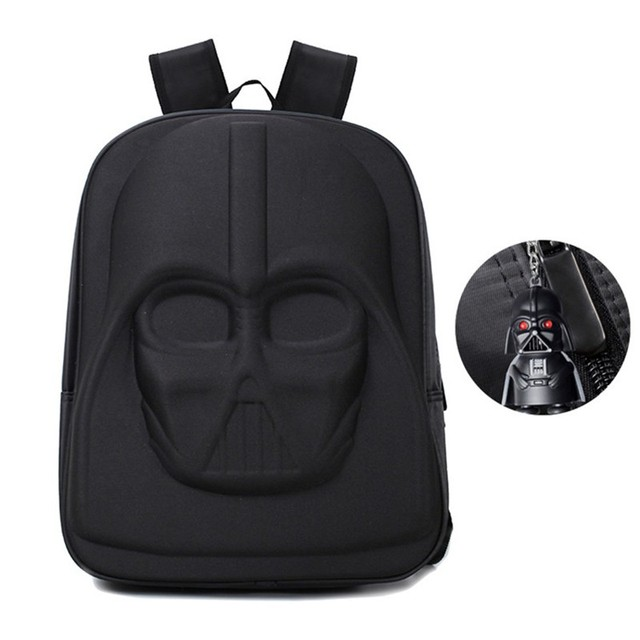 Darth Vader Backpack + Free Keychain Of Your Choise