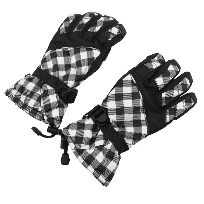 Winter warm Motorcycle glove Outdoor sports climbing gloves Snowmobile sking gloves Waterproof Screen touch motorbike guantes