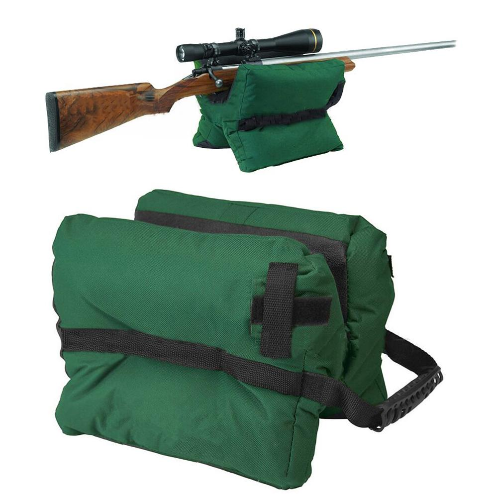 Paintball Accessories Gun Front Rear Bag Stand Rifle Support Sandbag Bench Unfilled Outdoor Tack Driver Hunting Rifle Rest Tool