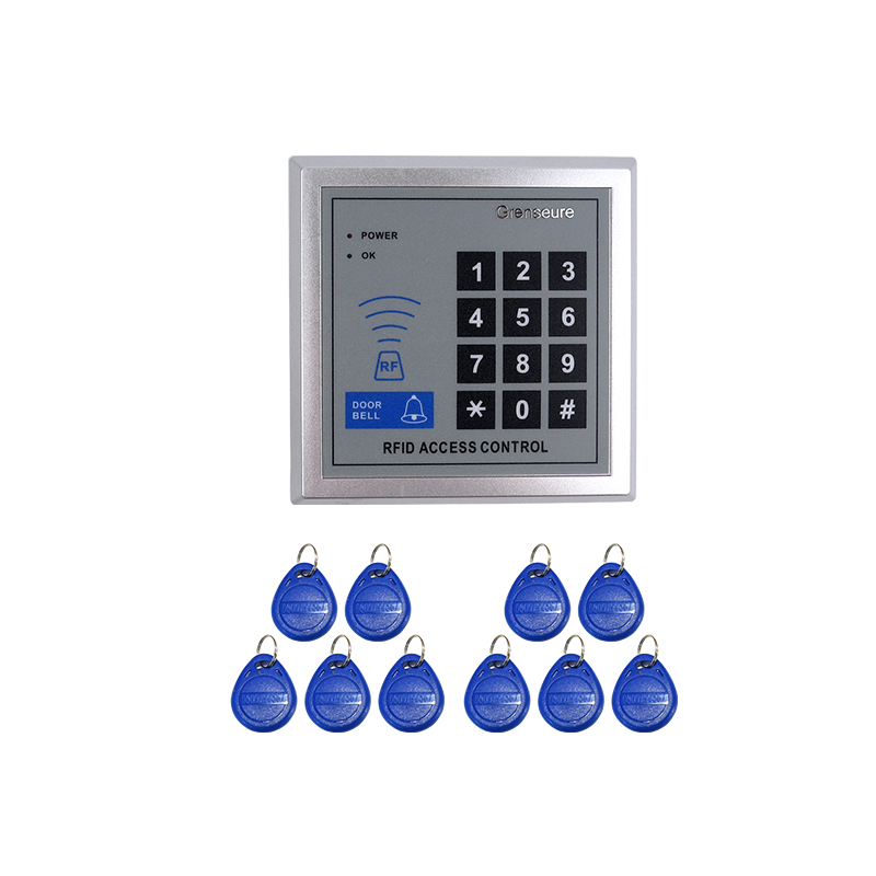 Brand New 125KHZ DIY RFID Door Access Controller Rfid Reader Entry Code Keypad + In Stock Free Shipping pro fitness breast enhancement instrument vacuum infrared heating suction cup breast enhancement massager beauty device gifts