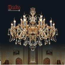 Lustre suspendu en cristal, design moderne, produit de luxe, éclairage dintérieur, lumière dintérieur, éclairage décoratif de plafond K9