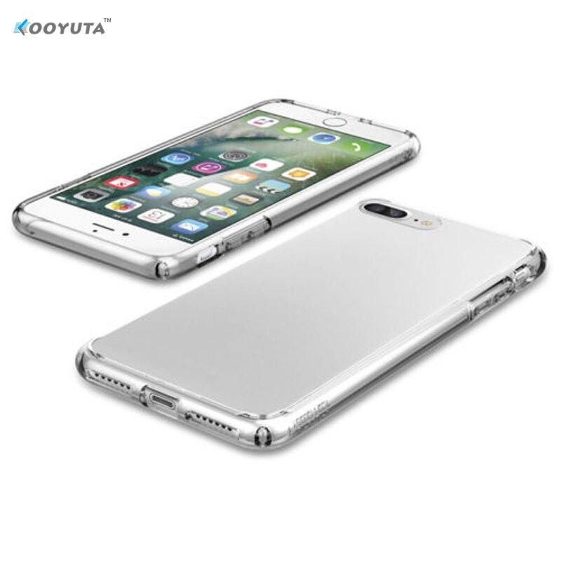 Лидер продаж! Для iphone 7/7 Plus ультра тонкий мягкий силиконовый прозрачный чехол кожного покрова Бесплатная доставка