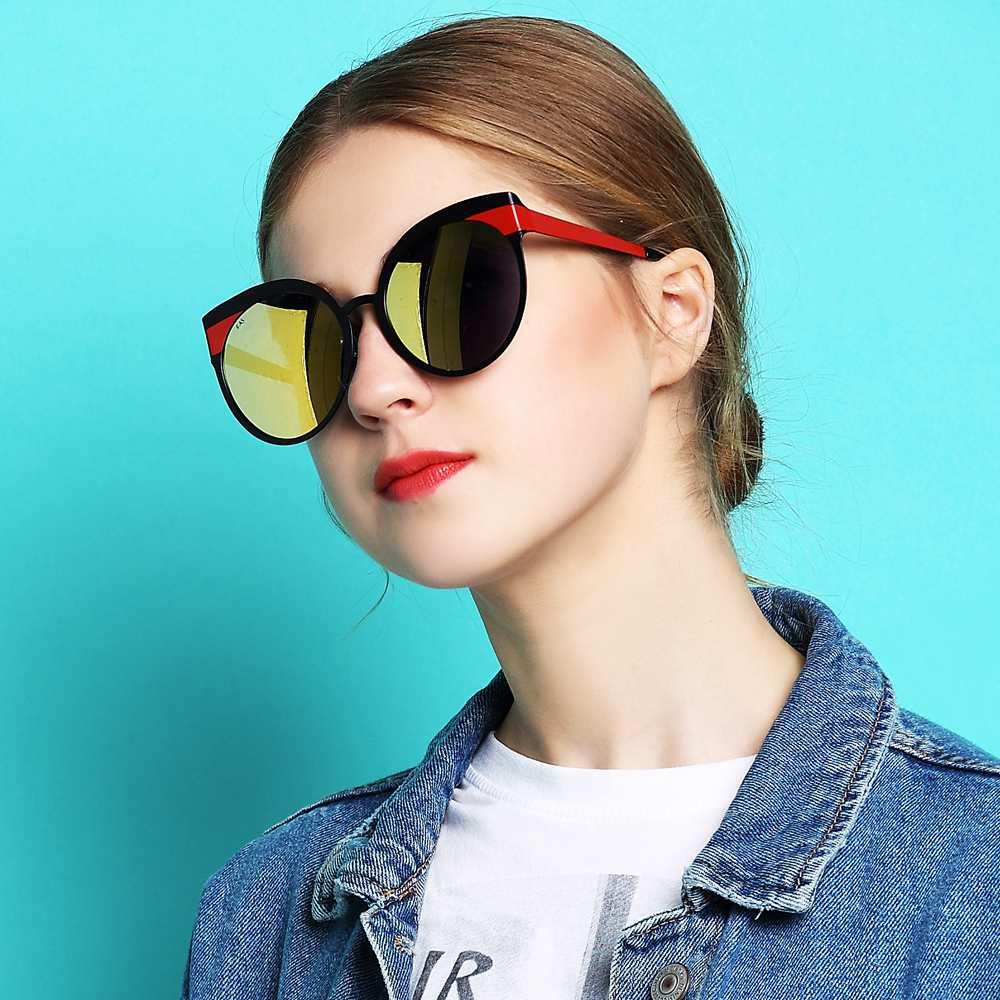 2018 à la main de haute qualité polarisé Anti-réfléchissant lunettes de soleil oeil de chat confortable lunettes de soleil femmes fille luxe lunettes de soleil - 3