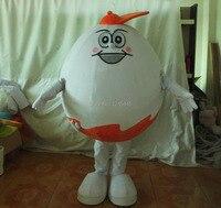 Handmade ovo engraçado dos desenhos animados do traje da mascote adulto traje ovo de páscoa