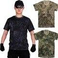 Chiefs Rapid Assault Military Tactical Combat Crye Kryptek style Mens T-Shirt Tops Tee perspiration t shirt