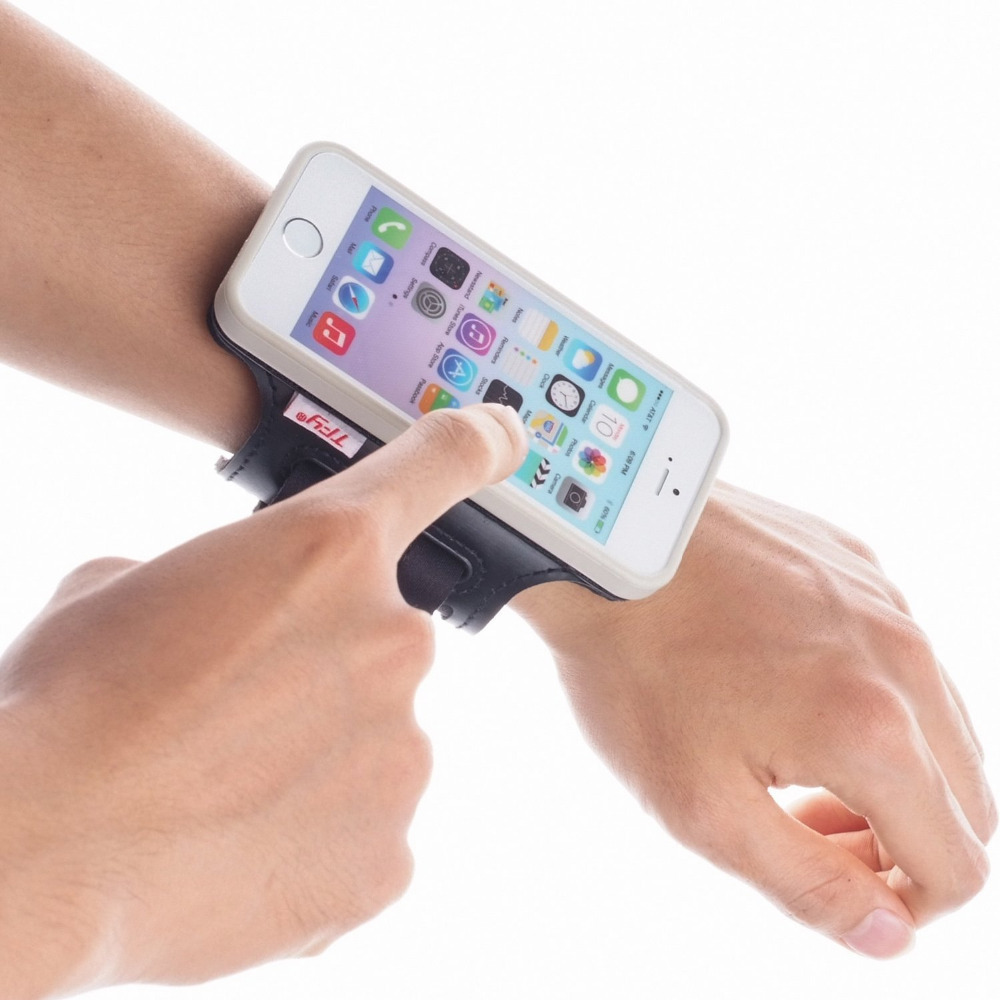 iphone wrist strap tfy open sport armband wrist band holder detachable 12506