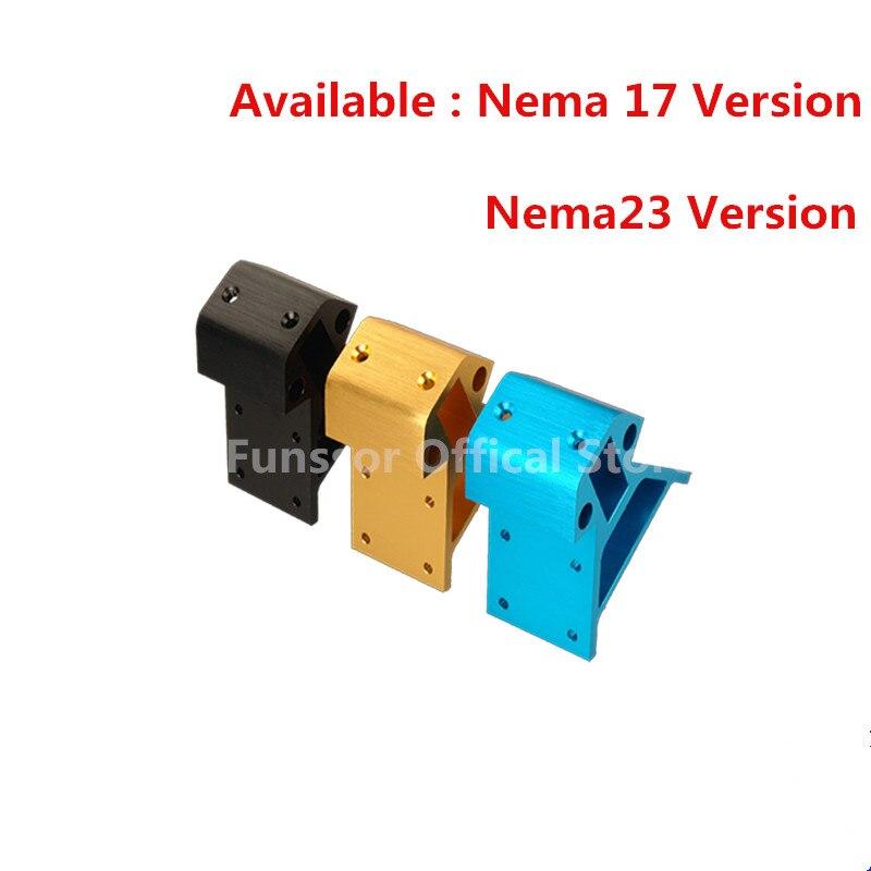 Funssor Kossel 2040 Aluminum Alloy profile Corners high quality 3pcs bottom 3pcs top No bearings