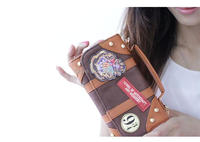 New Harry Potter Hogwarts PU School Badge Wallet Package Collectibles Girl Shoulder bag Handbags Christmas Gifts Free shipping