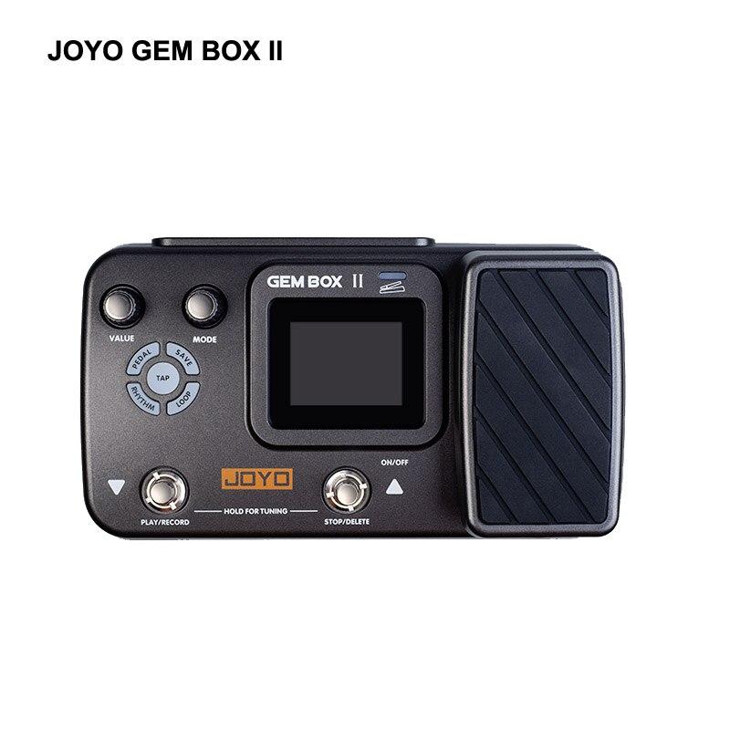 JOYO Gembox II Guitar multi-effects processor new algorithm drum machine patterns 3-minute looprecording Electronic effect pedal
