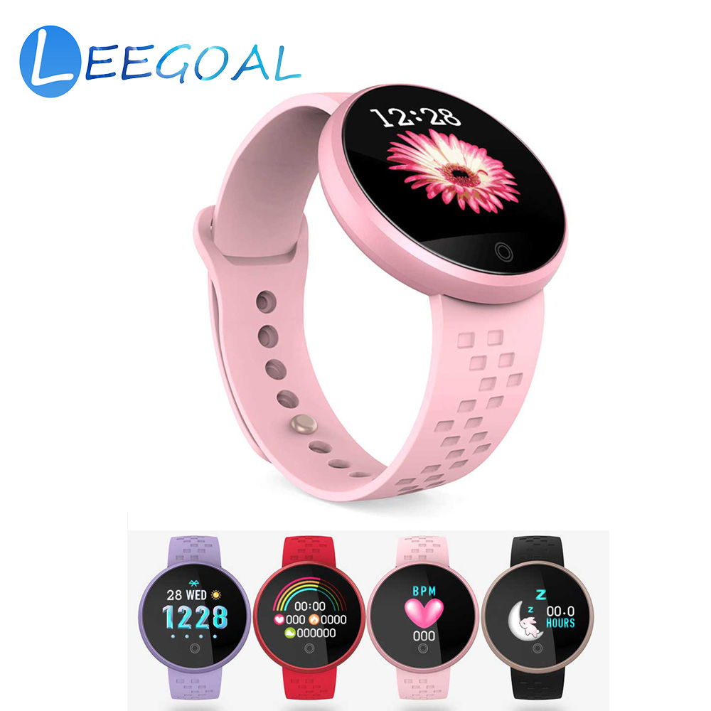 Orderly Mnwt Luxury Rose Gold Smart Watch Women Smart Bluetooth Electronics Heart Rate Blood Pressure Monitor Fitness Tracker Smartwatch Watches