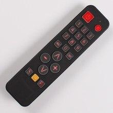 Evrensel uzaktan kumanda öğrenmek için TV,STB,DVD,DVB,HIFI, 21 tuşları büyük düğmeler denetleyici geri yaktı kolay kullanım yaşlı için